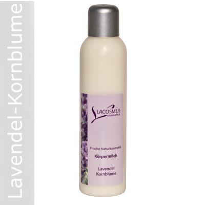 Körpermilch Lavendel/Kornblume