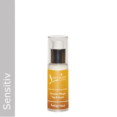 Sensitivpflege für fettige Haut